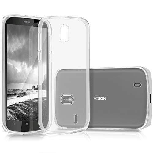 kwmobile Hülle kompatibel mit Nokia 1 - Hülle Handy - Handyhülle in Transparent