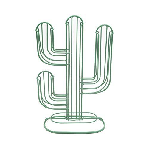 Porta Capsula Metal Cactus Urban Verde