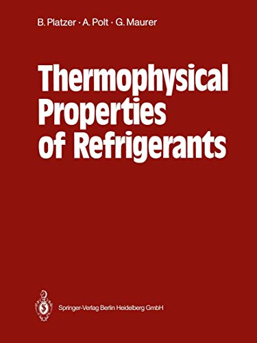 Thermophysical Properties of Refrigerants