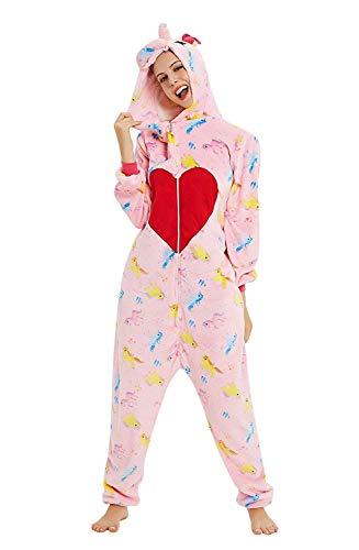 ABYED Carnaval Halloween Disfraz Pijama Animal Entero Unisex para Adultos Niños con Capucha Ropa de Dormir Traje de Disfraz para Festival de Navidad
