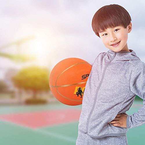 FOLOSAFENAR Baloncesto para niños Talla 5 Fibra más Gruesa Duradera para Entrenamiento de Baloncesto para niños