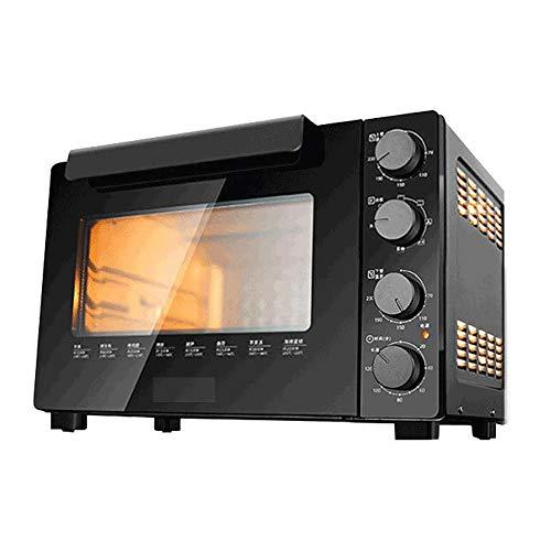 JHBNOIUKJS 32L de microonda, de 1500 vatios, Microondas Actualizado con función de descongelación, 0-35Min Temporizador, Diseño Elegante, fácil de Limpiar, for cocinar al Vapor/Calefacción/ebulli