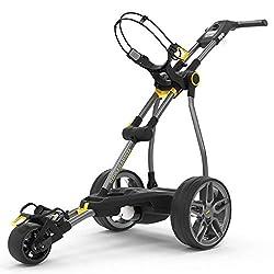 The Powacaddy electric golf trolley