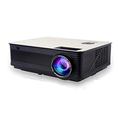 Projecteur maison petit bureau HD 1080 P projecteur sans fil 4K micro TV sans écran de travail home cinéma (Color : BLACK, Size : 30.2 * 21.7 * 10.6CM)