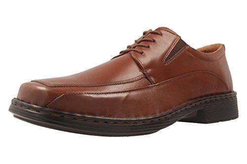 Josef Seibel Brian Derby veterschoenen voor heren, comfortabele herenschoenen van echt leer, extra breed