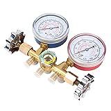 Mangueras del colector de presión de enfriamiento de A/C para diagnóstico de CA para sistema de aire acondicionado de automóvil/familiar