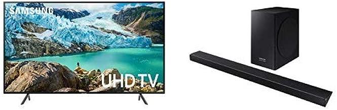 Samsung UN75RU7100FXZA FLAT 75'' 4K UHD 7 Series Smart TV (2019) with Harman Kardon HW-Q60R Acoustic Beam Q60R Series Soundbar
