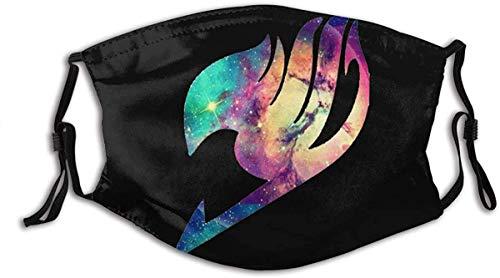 FAI-ry TA-il Ani-me Logo Weiches, Komfortables, staubdichtes Gesicht Unisex-Staubgesicht