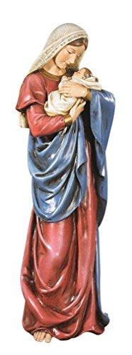 Un beso de mi madre Virgen María Jesús infantil adorador amor 58,42 cm Iglesia Estatua Figura