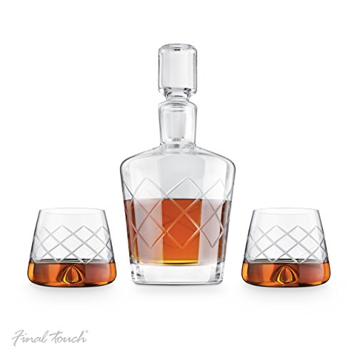 Final Touch Durashield Whisky decanterset