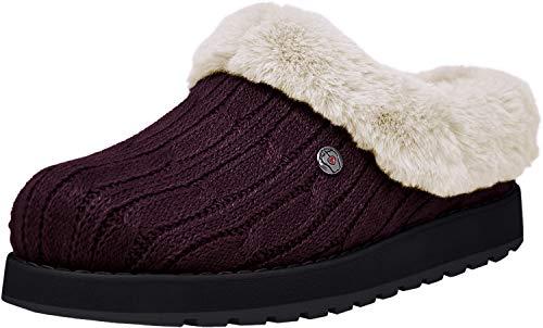 Skechers BOBS from Women's Keepsakes Ice Angel Slipper, Wine 10 M US