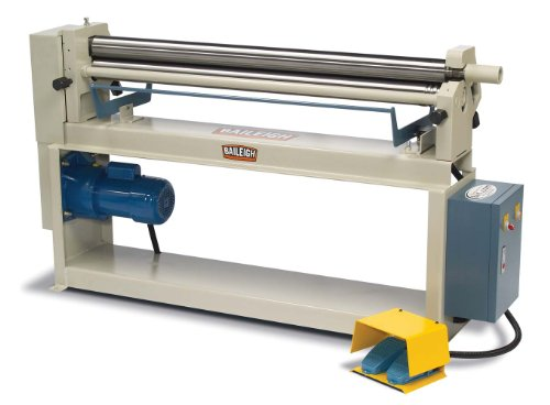 Read About Baileigh SR-5016 Electric Slip Roll, 1-Phase 220V, 1hp Motor, 16-Gauge Mild Steel Capacit...