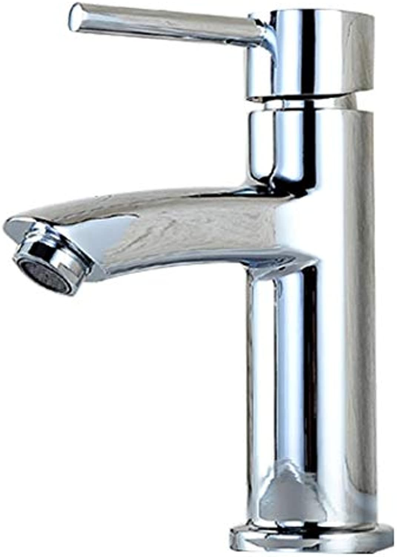 Wasserhahn, Voller Kupferkern Warmes Und Kaltes Wasser Badezimmer Badezimmer Waschbecken Wasserhahn Einlochmontage (Farbe    3)