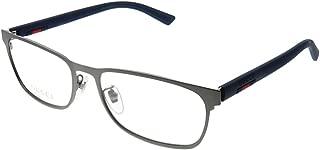 Eyeglasses Gucci GG 0425 O- 003 RUTHENIUM/BLUE