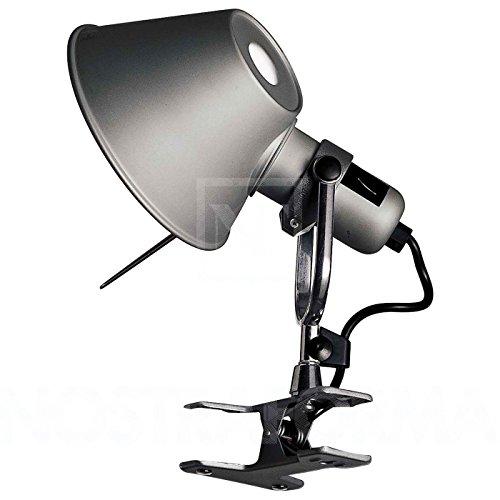 Tolomeo Micro Pinza LED aluminium/eloxiert/poliert
