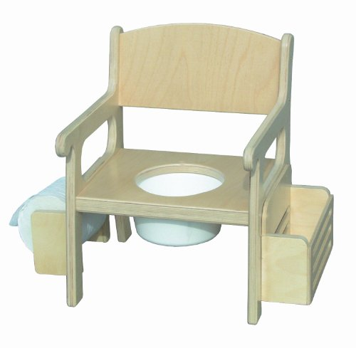 Little Colorado Unfinished Potty Chair with Accessories