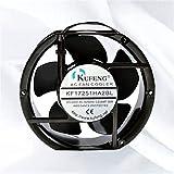 for KUFENG KF17251HA2BL 220V-240V 0.22A 38W 17215051mm Ball Bearing Cooling Fan (Lead)