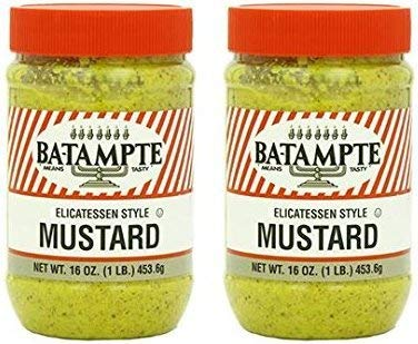 Ba Tampte Mustard, 16 Ounce (Pack of 2