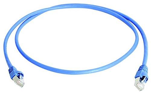 Telegärtner Patch-Kabel (Cat. 7, F-STP LSZH 2 m) blau