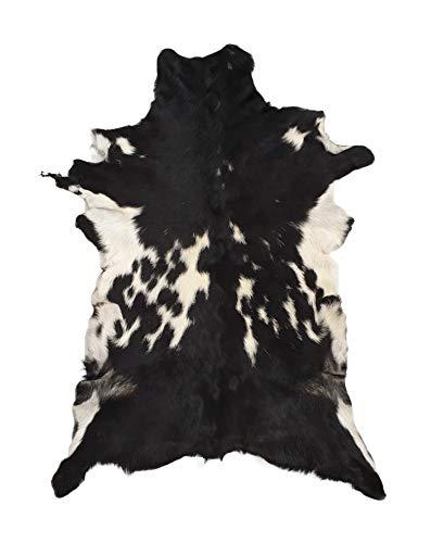 Ziegenleder-Teppich, Ziegenfell, Überwurf, weicher Kunstlederteppich, Tierhautteppich, Pelt