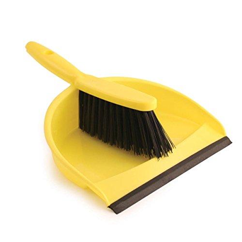 Bentley Industrial Color Coded Hygiene Dustpan en Hand Brush Set,