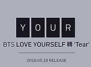 BigHit BTS - LOVE YOURSELF 轉 Tear [Y+O+U+R ver. SET] (Vol.3) 4CD+Photobook+Mini Book+Photocard+Standing Photo+4Folded Poster+Extra Photo 10pcs+Kpop Mask