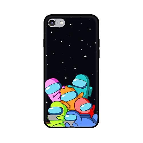 通用 Among Us iPhone 7 Plus / 8 Plus Funda Carcasa Suave Silicona Case Cover para Apple iPhone 7 Plus / 8 Plus Among us
