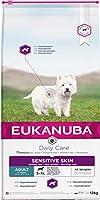 Eukanuba Daily Care Sensitive Skin Torrfoder för Vuxna Hundar med Känslig Hud, 12 kg