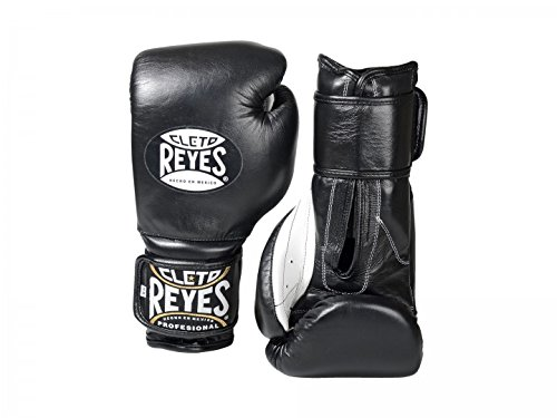 Cleto Reyes Boxhandschuhe 12oz, schwarz, Klettverschluß