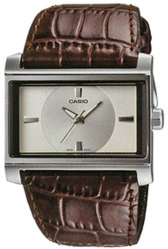 Casio Collection Herren Pullover (September 2008 Modell) Stilvolle Metall Analog Modern Modus Serie Fashion Uhr Armbanduhr # mtf-112l-7 C