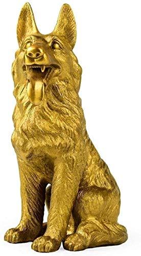 aipipl Y Esculturas Escultura Animal De Cobre Puro Estatua De Perro Decoracin