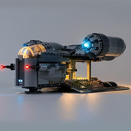 Kit De Luces Led Para Star Wars The Mandalorian Bounty Hunter Transport Starship, Compatible Con El Modelo De Bloques De ConstruccióN De Juguetes Lego 75292 (No Incluir El Conjunto De Lego)