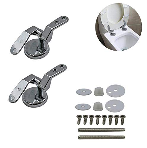 Universial Size Zinc alloy toilet seat lid cover hinge Replacement with Bolts Screw and Nuts