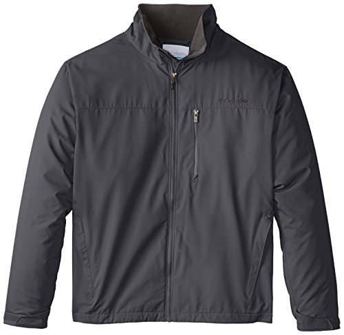 Columbia Men's Big and Tall Utilizer Jacket, Graphite, 3X