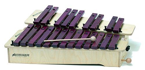 782 Gitre/x 590 x 250 x 100 mm 13 notas Soprano xilófono diatónica