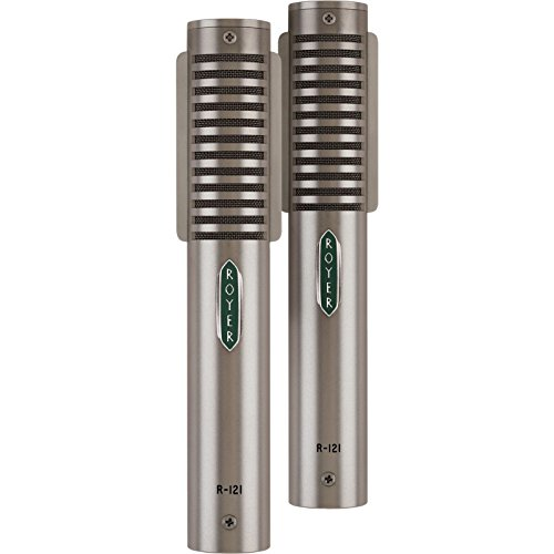 Royer R-121 Matched Ribbon Microphone Pair Nickel