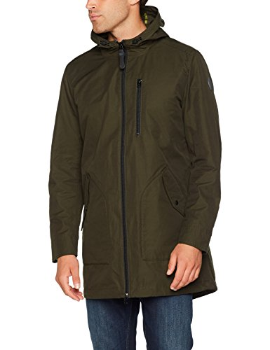 Marc O'Polo Herren 727126771070 Jacke, Grün (Dark Military 493), X-Large
