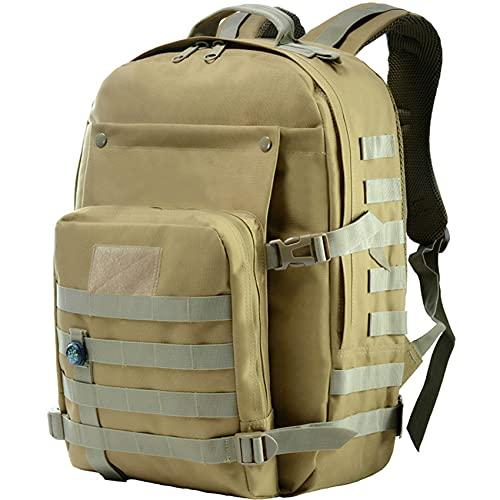 Guu Mochila de viaje grande de 40 l, mochila de viaje de 18 x 13 pulgadas, impermeable, para negocios, trabajo, escuela, hombres, mujeres