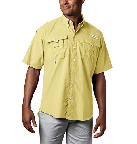 Columbia Bahama II - Camiseta de Manga Corta para Hombre, Talla Grande, Color Azul
