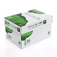 イーサプライ コピー用紙 B4 サイズ 500枚×5冊 2500枚 高白色 EZ3-CP1B4