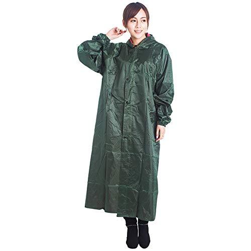 Unsex Beschermende regenjassen PVC Milieubescherming Poncho-jassen voor volwassenen Voorkomt spatten Draagbare waterdichte werkkleding 3 stuks