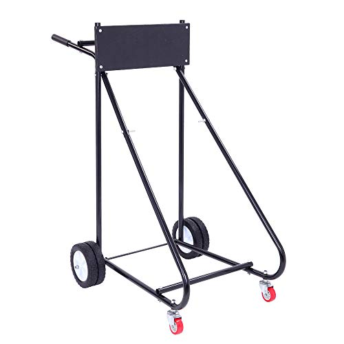 TUFFIOM Outboard Boat Motor Stand, Engine Carrier Cart Dolly for Storage, 315lbs Weight Capacity, w/Wheels