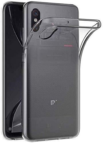 REY 3X Funda Carcasa Gel Transparente para XIAOMI Mi8 Pro - MI 8 Pro, Ultra Fina 0,33mm, Silicona TPU de Alta Resistencia y Flexibilidad