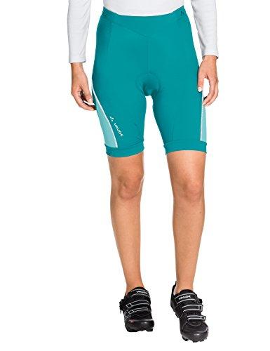 VAUDE Damen Advanced Pants II Hose, türkis (Reef), 44