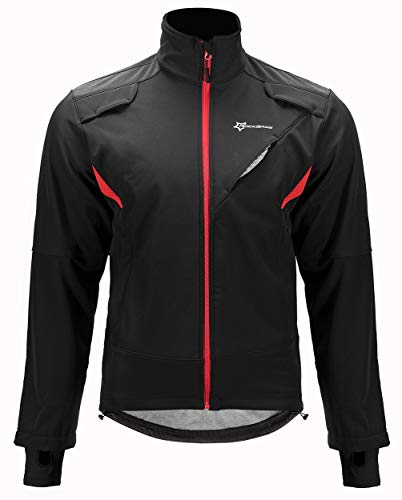ROCKBROS Winter Jacke / Hose Fahrradbekleidung Herren Fahrrad Radjacke Lange Wasserfest Windjacke Radhose Freizeithose M-4XL
