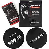 MIGABRI Core Slider paquete de 6 ABS Elite, Negro