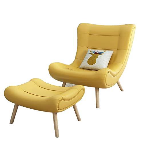 Chaise longue canapé chaise de loisirs en arrière chambre à coucher le salon balcon chaise de loisirs Chaise de lecture Terrasse balancelle Femme enceinte inclinable café tabouret de bar