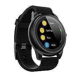 Xigmer Smartwatch Sportivo Orologio Fitness Impermeabile Ip68 Braccialetto Di Attività Intelligente Tracker Con Monitor Del Sonno, Controllo Della Musica, Per Uomo e Bambino, Supporta Android e IOS