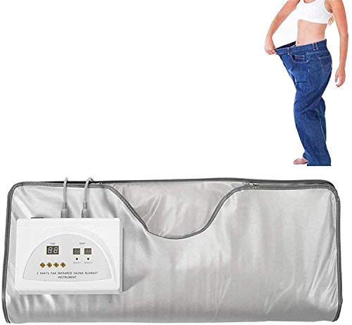 SSeir Manta de Vapor de Manta Digital infrarrojo de la Sauna de Calor (Abeto) Manta de la Sauna Profesional de desintoxicación Máquina de Belleza para la pérdida de Peso Delgada del Cuerpo Completo
