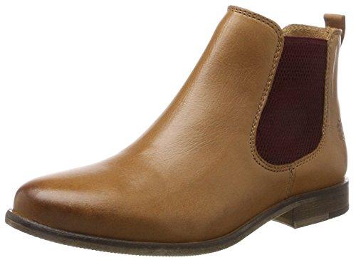 Apple of Eden Damen Manon Chelsea Boots, Braun (Cognac), 40 EU